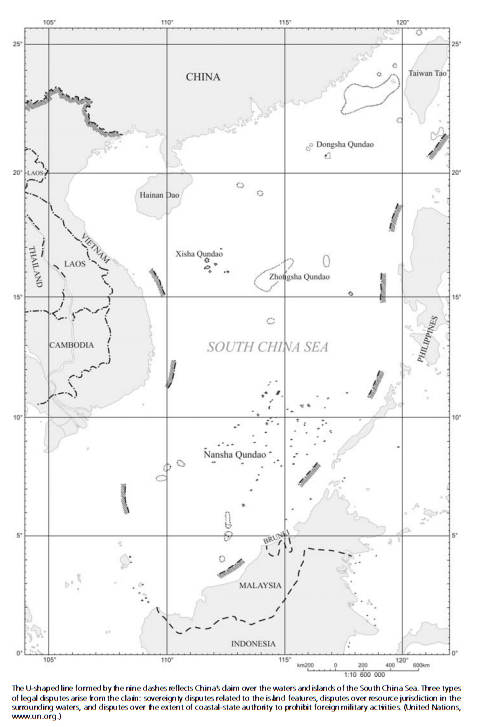 Map of South China Sea claims (2/2)