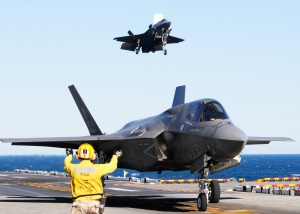 F-35B trials aboard USS Wasp, source: air-attack.com
