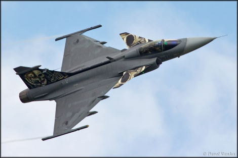 JAS-39C Gripen belonging to Czech Air Force. Image Credit: CC by Pavel Vanka/Flickr.