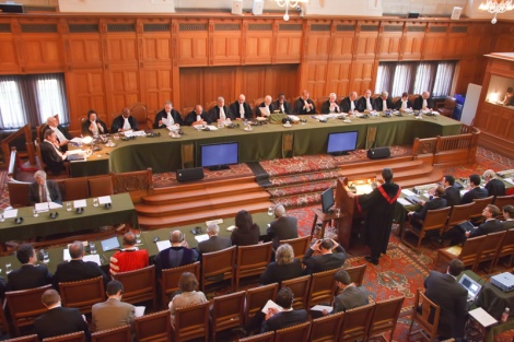 Dispute on the delimitation of North Sea continental shelf among three NATO members was resolved via International Court of Justice. China has been strong opponent of third party resolution in the case of South China Sea disputes. Image Credit: Wikimedia Commons.
