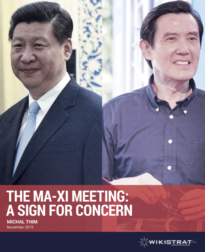 Ma-Xi meeting: A sign for concern